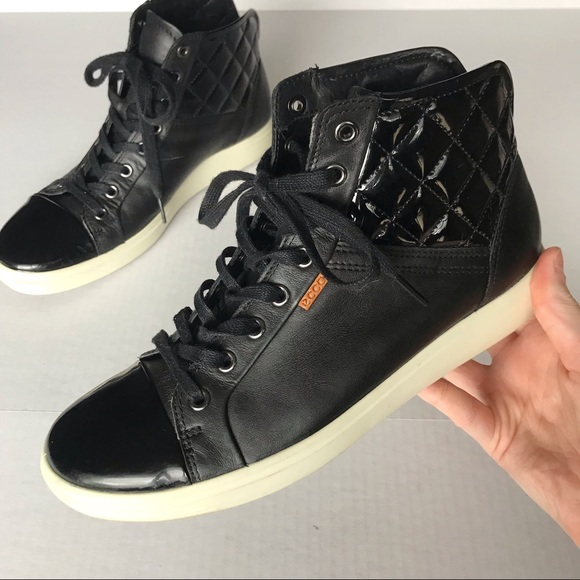 Ecco Soft 7 Quilted Hightop Sneakers 4